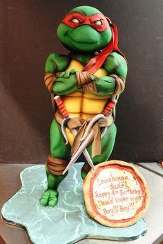Raphael Cake! By Dina Cimarusti