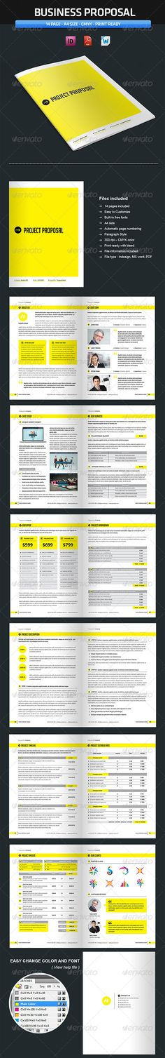 Project Proposal Template - V1 - Updated Proposal templates - ms word proposal template