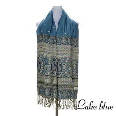 2016 womens fall fashion scarves women thin long georgette shawl leaf print shawl and scarves