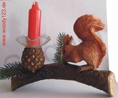 Eichhörnchen - Tischleuchter