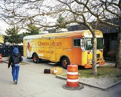 After Hurricane Sandy, the Queens Library Bookmobile in Queens, NY