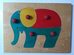 Puzzle  premier âge éléphant
