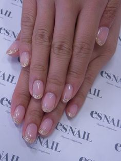 Simple gold french