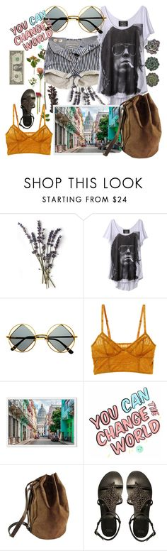 """""""rebel"""" by iandcheshirecat ❤ liked on Polyvore featuring French Kiss, Pull&Bear, Retrò, Intimately Free People, Kjøre Project and ASOS"""
