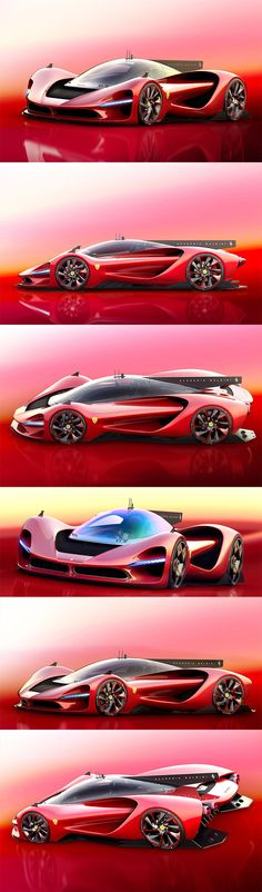 Giving us a little tease of what's to come is this futuristic Ferrari concept by Alexander Imnadze Baldini, called the P3 Scuderia Baldini. Aesthetically, this all-electric bad boy is a contemporary twist on the unforgettably curvaceous P3 that dominated racetracks in the 60s.