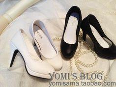 【BJD】【独家打版】SD16/10/DD 超经典基本款 PU高跟单鞋 娃鞋-淘宝网