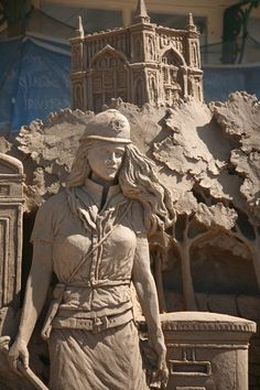First Responder - - DeviantArt - Hollywood, CA. Snow Sculptures, Sculpture Art, Metal Sculptures, Abstract Sculpture, Bronze Sculpture, Statues, Ice Art, Snow Art, Scary Art