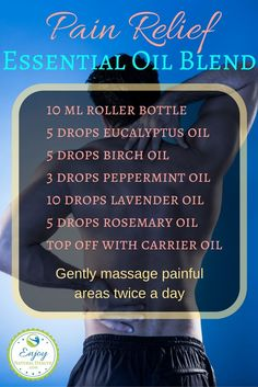If you struggle with pain, you must try this so you can feel better soon. This is one of the best essential oil recipes for pain relief! Works on arthritis, neuropathy, fibromyalgia, back pain, joint pain, plantar fasciitis, and more.