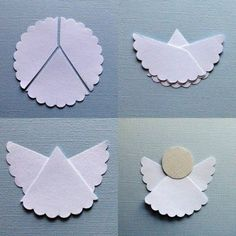Homemade Christmas Decoration – Paper Angel – Fast and Easy by Maiden11976