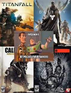 Recent First Person Shooters in a Nutshell - Video Game Memes Video Game Memes, Video Games Funny, Funny Games, Funny Gaming Memes, 9gag Funny, Call Of Duty Aw, Funny Animal Quotes, Hilarious Animals, Hipster Edits