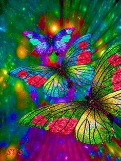 GIFS HERMOSOS: flores enoctradas en la web