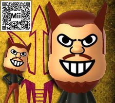 ASU's Sparky in Nintendo Mii form. I couldn't find any others online. Use the QR code to download to Wii U or 3DS.