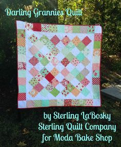 Hi! My name is Sterling LaBosky, owner of Sterling Quilt Company, and I am so thrilled to share my first recipe with you guys! I love charm squares and I love granny squares, so I thought why not c...