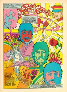 June 1967 Sgt Peppers lonely hearts club band explodes, blasting the entire music world wide open.. and the psychedelic era is born!