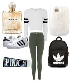 """""""Untitled #16"""" by williamsbreona33 ❤ liked on Polyvore featuring Glamorous, Miss Selfridge, adidas Originals and Sarah Jessica Parker"""