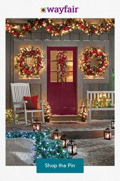 Of all the home businesses out there, Christmas Light Installation businesses may be one of the best kept secrets around. Most people think of hanging Christmas lights as a low paying, low potential, grunt work job, and therefore they Christmas Porch, Outdoor Christmas Decorations, Country Christmas, Christmas Lights, Christmas Holidays, Christmas Wreaths, All Things Christmas, Diy Christmas Home Decor, Christmas Garden