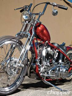 Comin' Up Fives | 1955 Harley-Davidson Panhead | Street Chopper