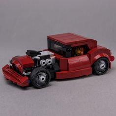 LEGO MOC 76903 Hot Rod by Keep On Bricking | Rebrickable - Build with LEGO