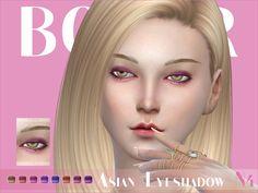 Asian Eyeshadow N04 by Bobur at TSR via Sims 4 Updates