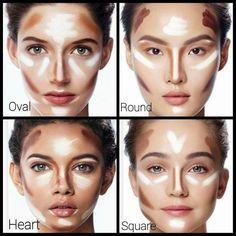 Lip contouring tip for fuller lips . - Make up hacks - - Lip contouring tip for fuller lips … – Make up hacks Beauty Tipps – Konturierung Konturierung Best Contouring Products, Makeup Contouring, Makeup 101, Highlighter Makeup, Contouring And Highlighting, Makeup Inspo, Makeup Hacks, Beauty Makeup, Eye Makeup