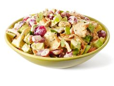 Lady Marmalade Chicken Salad: This take on chicken salad features a Greek yogurt dressing and extra crunch from roasted cashews.