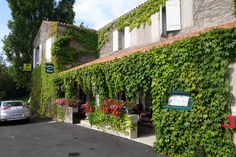 Favourite French hotels - the wonderful Auberge de la Riviere in the Vendee village of Velluire: see my review at thematuretraveller.co.uk