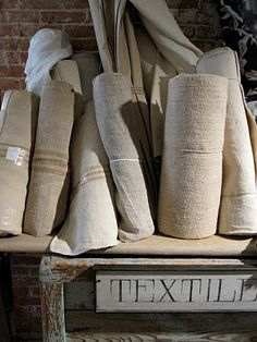 """desperately looking for a vendor for raw/natural linen hemp, or flax...Try Dharma Trading Company (http://www.dharmatrading.com) under """"fabrics.""""  Good prices and a nice assortment."""