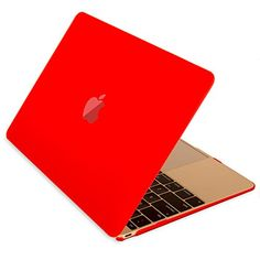 """Mosiso - Retina 12-Inch Rubberized Hard Case Cover for Apple MacBook 12"""" with Retina Display A1534 (2015 NEWEST VERSION) (Red) Mosiso http://www.amazon.com/dp/B00WK71M30/ref=cm_sw_r_pi_dp_bAVAvb1A4XNFJ"""