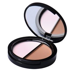 Sale Professional Brand Makeup Two-Color Bronzer Highlighter Powder Trimming Powder Make Up Cosmetic Face Concealer by Sugar Box