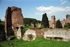 Rome Photos at Frommer's - The Baths of Caracalla are the best-preserved baths from Ancient Rome.