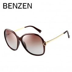 b07626db63 BENZEN Sunglasses Women Polarized UV 400 Brand Designer Oversized Sun  Glasses Female Oculos De Sol Feminino With Case 6033