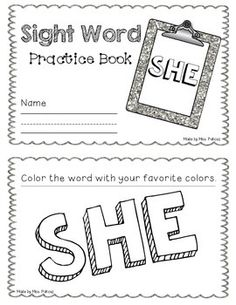 Interactive Practice Page (Sight Word: There): Write-and