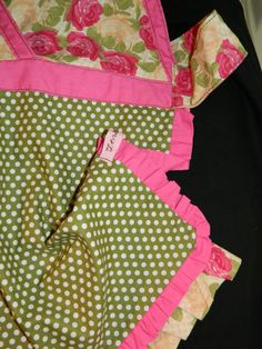 Apron  Lady's Halter  Vintage  Retro  SALE by TeriClothCreations, $32.00