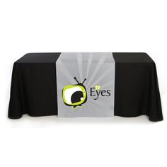 Check out this customizable product from www.totallypromotional.com//table-covers/table-runners/30-x-90-liquid-repellent-full-color-table-runner.html