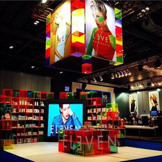 ELEVEN Australia stand @ Salon London