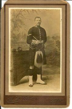 Sergeant Adam Kennedy, of the 1st Battalion Gordon Highlanders. KIA December 1914