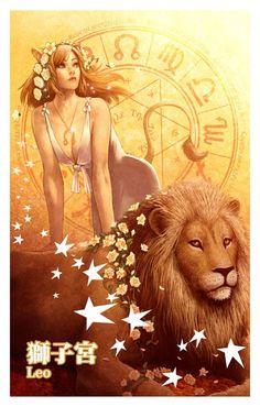 Leona and Leo Leo Zodiac Facts, Zodiac Art, Signe Astro Lion, Art Zodiaque, Leo Symbol, Lion Sketch, Leo And Cancer, Leo Girl, Leo Horoscope