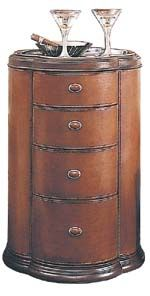 Leather Accent Table... Part Of Thomasvilleu0027s Bogart Collection
