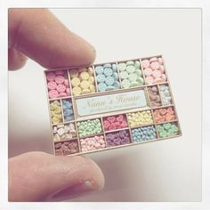 2017, Miniature Candy Box♡ ♡ By Nunu's House