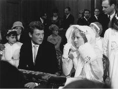 1965 Wedding of Johnny Hallyday and Sylvie Vartan