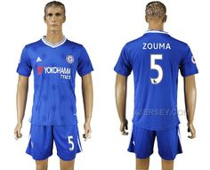 http://www.xjersey.com/201617-chelsea-5-zouma-home-soccer-jersey.html 2016-17 CHELSEA 5 ZOUMA HOME SOCCER JERSEY Only 33.11€ , Free Shipping!