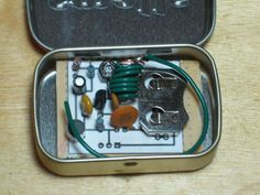 The on thing every spy needs is a small and wellconcealedlistening device.The FM Listening Bug Kit gives you all you need to build a small, single Transistor, FM transmitter that can operate between 80 MHz and 150 MHz. Allowing you to tun it to an open frequency on an FM Radio and listen to what is going on in the room you leave that bug in. This bug has an effective range of about 100 meters. In this Instructable we will cover: The Schematic and some basics of how it...