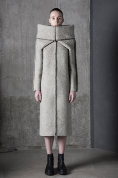Dzhus looks to the earth's formation for Tectonic fashion collection