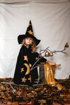Star Costume Child, Queen Costume, Cosplay Costumes, Baby Costumes, Halloween Costumes For Kids, Wizard Costume For Kids, Wizard Robes, Magician Costume, Butterfly Wings Costume
