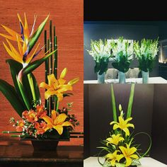 Corporate Floral Arrangements for Gifting your colleagues and seniors with lilies, gladiolas, bird of paradise. Surprise them with artificial dry flowers this Diwali. #InspiredFloralCreations #Kanpur