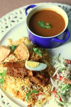 Mutton pulao dal. Image Courtesy: Katy's Kitchen