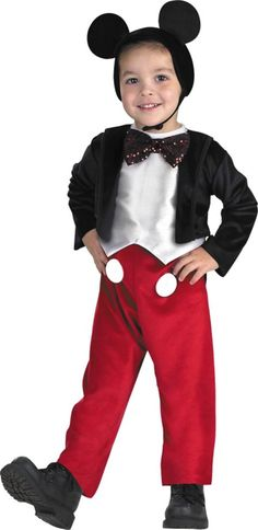 Mickey Mouse Costume for Boys - Party City