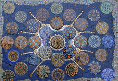 Image result for broken plate  mosaic