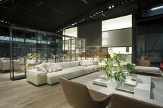 Booth  Photo: Cesare Chimenti Neowall modular seating system by Piero Lissoni
