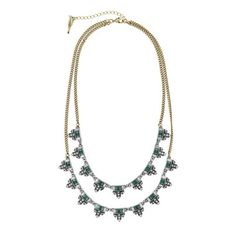 Jardins du Trocadero Two-Row NecklaceAwesome Styling ideas for St. Patrick Day! Come take a look at and like my fb page ~ https://www.facebook.com/jennschloeandisabel?ref=hl Shop at my boutique: www.chloeandisabel.com/boutique/jennschloeandisabel xoxo ~ Jennifer